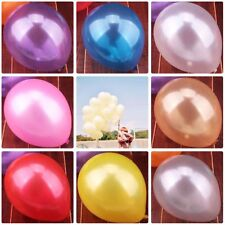 100Pcs Colorful Pearl Latex Balloon Celebration Wedding Birthday Party Decor Hot