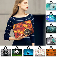 "10"" 10.1"" 10.2""Neoprene Laptop NetBook Sleeve Bag Case Cover Pouch +Hide Handle"