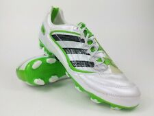Rare!! 2010 adidas Pred Absolion_X TRX FG White/Green U43595 Mens Soccer Cleats