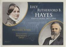 2008 Topps Updates & Highlights First Couples #FC-18 Lucy and Rutherford B Hayes