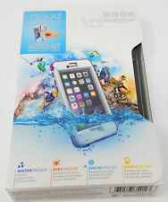Authentic Lifeproof NUUD Series Waterproof Case for iPhone 6 * Pink Pursuit *
