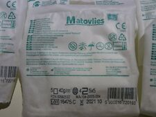 MATOVLIES NON WOVEN SWABS STERILE  5x5 CM FIRST AID 4 PLY QUALITY GAUZE  WIPES