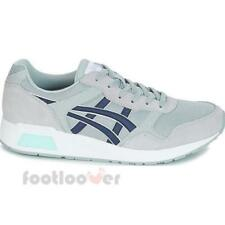 Asics Lyte Trainer H8K2L 9658 Mens Mid Grey Peacoat Shoes Casual Running Sneaker