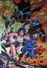 Justice League Of America - Attack- Poster-Laminated Available-90cm x 60cm-Br...