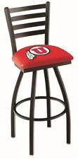 University of Utah Utes Swivel Bar Stool with Ladder Back