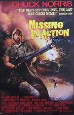 Missing in Action-Chuck Norris movie - Poster-Laminated available-90cm x 60cm...