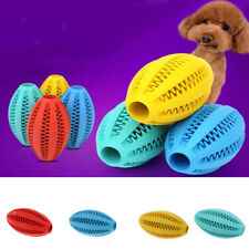 Rubber Pet Dog Cat Treat Chew Training Toy Teeth Cleaning Soccer Toy Chewing Toy