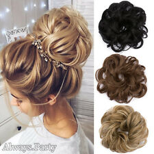 LARGE Comb Ponytail Clip In Curly Hair Piece Updo Hairpiece Extension Hair Bun P