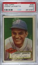 1952 Topps #365 Cookie Lavagetto PSA 2 GOOD Brooklyn Dodgers RC Baseball Card