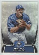 2012 Bowman Platinum Prospects BPP30 Mike Olt Texas Rangers Rookie Baseball Card