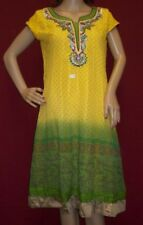 SKD 5906 Long Straight Kurti Assorted Churidar Salwar Kameez Dupatta Suits