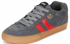 #Globe Encore 2 Charcoal Red Gum Suede Mens Skate Trainers Shoes Boots