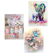 5D DIY Elephant Bird Diamond Painting Embroidery Cross Stitch Rhinestone Kit