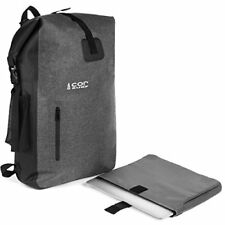 Ultralight Waterproof Backpack with Removable Laptop Sleeve and Secret Passport