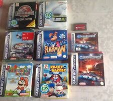 NINTENDO GAMEBOY ADVANCE GAMES - UK PAL - BOXED SECURE POST - GBA DS GAME BOY