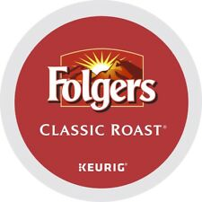 Folgers Classic Roast Coffee 24 to 96 Keurig K cups Pick Any Size FREE SHIPPING