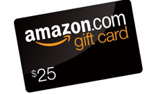 $25 Amazon Gift Card - Email delivery - USA Amazon ONLY