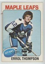 1975-76 O-Pee-Chee #114 Errol Thompson Toronto Maple Leafs RC Rookie Hockey Card