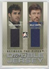 2006-07 In the Game Between Pipes #DJ-24 Rick DiPietro Billy Smith Hockey Card