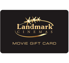 Landmark Cinemas Gift Card $25, $50, or $100 - Email Delivery