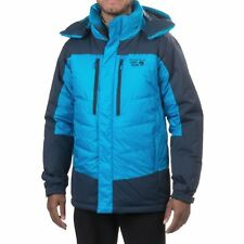 MOUNTAIN HARDWEAR MENS M GLACIER GUIDE DOWN INSULATED ALPINE PARKA JACKET