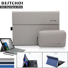 BESTCHOI® Laptop Sleeve Microsoft Surface Pro Tablet Laptop Bag Case Cover Stand