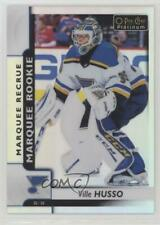 2017 O-Pee-Chee Platinum Rainbow 186 Marquee Rookies Ville Husso St. Louis Blues