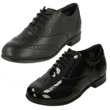 Senior Girls Angry Angels by Startrite Brogue Style Leather School Shoes Matilda