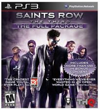 Saints Row: The Third - The Full Package (Sony PlayStation 3, 2012)