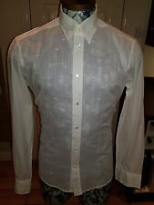 Mens Dolce and Gabbana shirt size 50 Large genuine