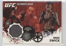2010 Topps UFC Series 4 Ultimate Gear Relic #UG-MS Mike Swick MMA Card