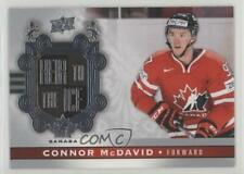 2017-18 Upper Deck Canadian Tire Team Canada #141 Heir to the Ice Connor McDavid