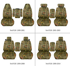 Ford f150 1999-2014 car seat covers  camo  tree, select  seat style