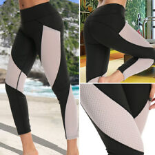 STRETCH Women Sexy Yoga Pants Running Jogger Fitness Sports Leggings Trousers