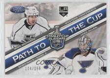 2012 Panini Certified Path to the Cup Semifinals #PCSF2 Jake Allen Mike Richards