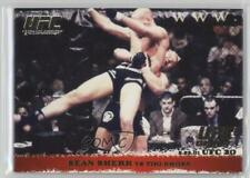 2009 Topps UFC Round 1 Gold #9 Sean Sherk vs Tiki Ghosn MMA Card