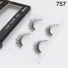 Gam-Belle® 2 pairs/set 3D Dating Eyelashes Natural Long False Volume Extension
