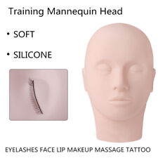 Gam-Belle® Soft Silicone Training Mannequin Head Practice Cosmetology Grafting