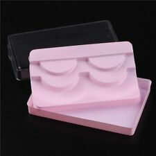 Gam-Belle® 3 Layers Eyelash Box Pink Packaging Transparent Cover Can Lash Case