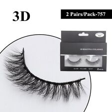 Gam-Belle® 2 pairs/lot Top Quality Women False Eyelashes Crisscross Voluminous