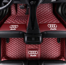 For Audi Car floor mats for A1 A3 A4 A5 A6 A7 A8 Q3 Q5 Q7 TT S3 S5 S6 S8 S7 A8
