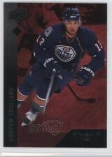 2009-10 Upper Deck Black Diamond Single Ruby #17 Andrew Cogliano Edmonton Oilers