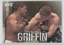 2012 Topps UFC Knockout Gold #8 Tyson Griffin MMA Card