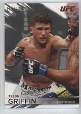 2010 Topps UFC Knockout Silver #52 Tyson Griffin MMA Card