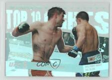 2010 Topps UFC Main Event Top 10 Fights of 2009 TT097 Condit vs Ellenberger Jake