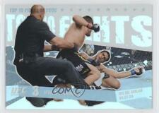 2009 Topps UFC Round 1 Top 10 Fights of 2008 #TT12 Wiman vs Tavares Matt Thiago