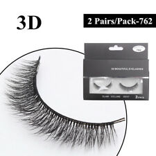 Gam-Belle® 2pairs/set Pure Hand Cotton Thread False Eyelashes Messy Soft Natural