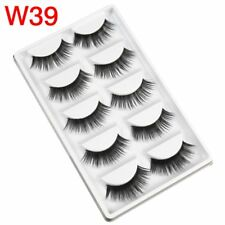 Gam-Belle® 5 pairs/set 100% Handmade Fake Eyelashes 3D Natural False Soft Lashes