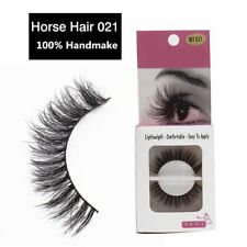 Gam-Belle® Handmade Beauty Thick Curly Horse Hair False Eyelashes Fake Lashes