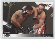 2010 Topps UFC Knockout Gold #20 Frank Mir Rookie MMA Card